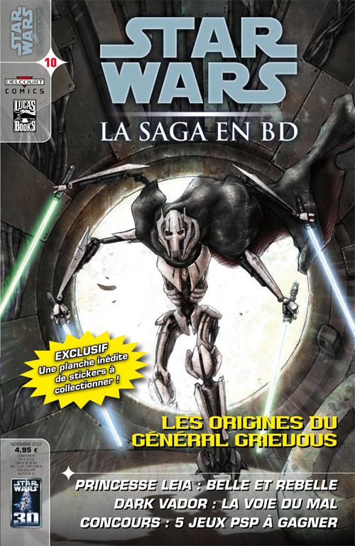 STAR WARS - LA SAGA EN BD #10 - #19 Comics20