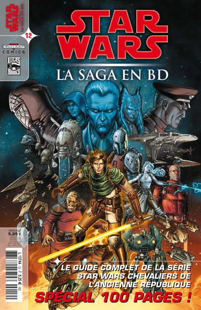STAR WARS - LA SAGA EN BD #10 - #19 Comics22