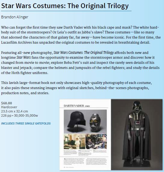 Star Wars Costumes: The Original Trilogy - Les costumes Costum11