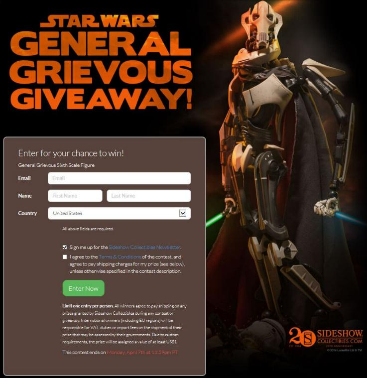 Sideshow - General Grievous - Sixth Scale Figure Genera12