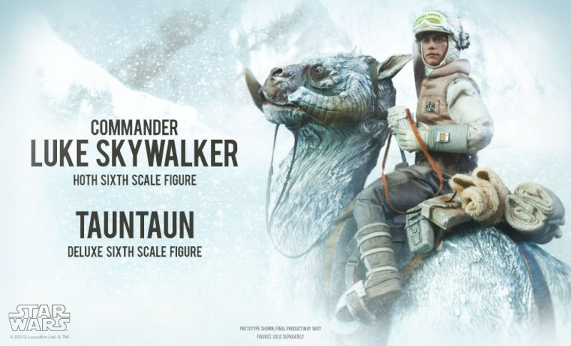 Sideshow Collectible - Luke, Han & Tauntaun Hoth Planet Lukean10