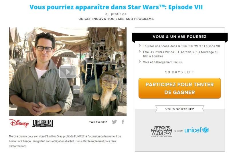 7 - Rejoignez le tournage de Star Wars VII à Londres Omaze10