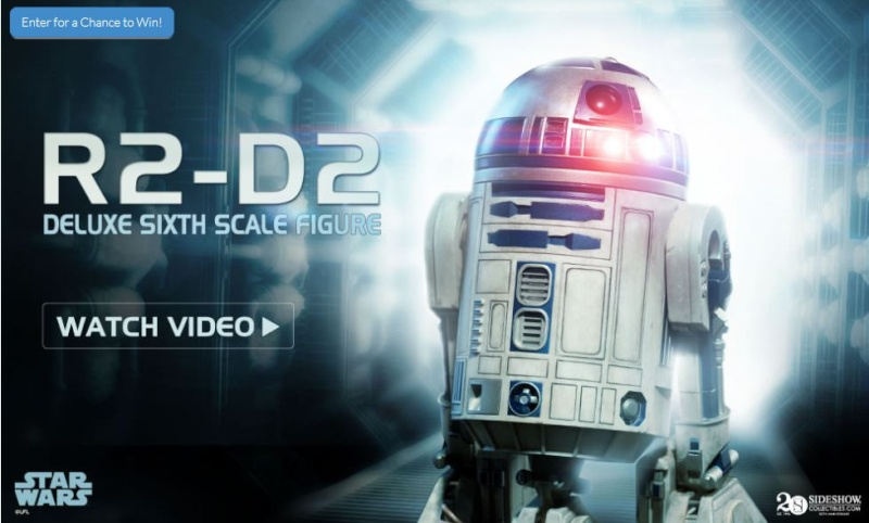 Sideshow - R2-D2 Deluxe Sixth Squale Figure R2d2_d10