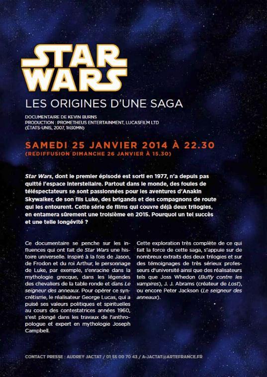 ARTE - Samedi 25/01/2014 - Star Wars les origines d'une saga Sw_art11