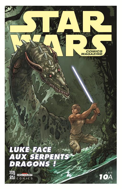 STAR WARS COMICS MAGAZINE #10 - JUILLET 2014 Swcomm10
