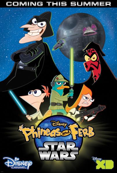 Disney XD - Phineas et Ferb Star Wars  Swferb10