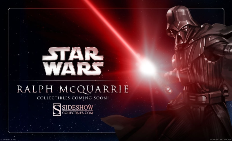 Sideshow Collectibles Ralph McQuarrie Star Wars Darth Vader Vador_10