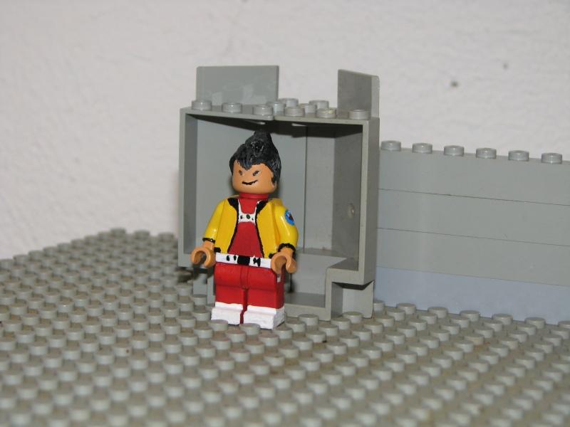 Customs lego  personnages de DA 80's de Fabax Sd10