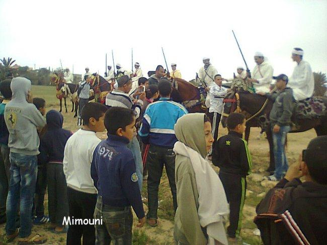 Ouled Mimoune renoue  avec Le cheval et les arts équestres  (Tbourida) Photo010