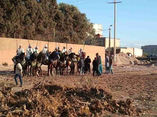 Ouled Mimoune renoue  avec Le cheval et les arts équestres  (Tbourida) Tbouri12