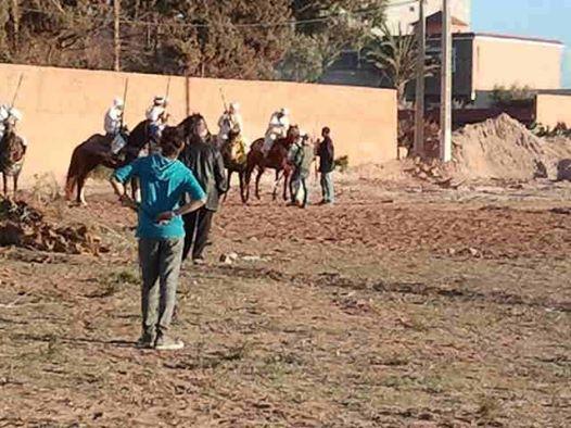 Ouled Mimoune renoue  avec Le cheval et les arts équestres  (Tbourida) Tbouri13
