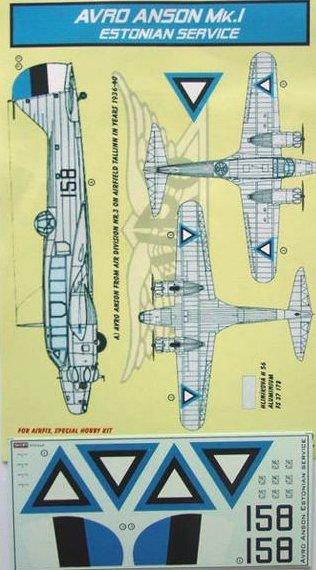 Montage: Hawker Hart estonien 1/72 Accd7210