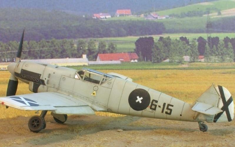 Messerschmitt Bf109B1 1/72 Bf109b10