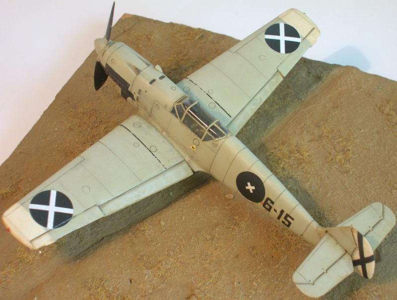 Messerschmitt Bf109B1 1/72 Bf109b13