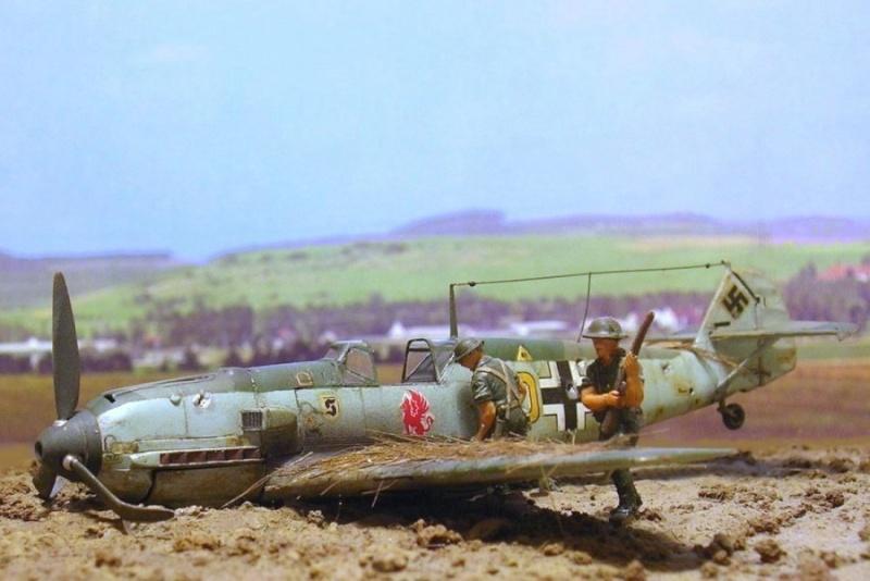 Messerschmitt Bf109E3 1/72° Bf109e10