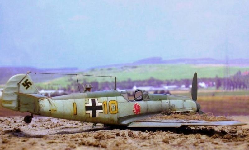 Messerschmitt Bf109E3 1/72° Bf109e14