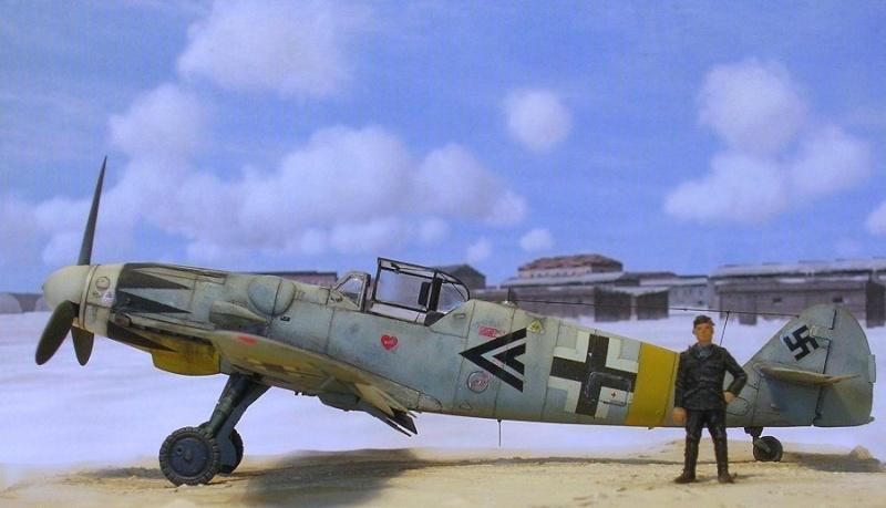 Messerschmitt Bf109G14/U4 ou G6/U4 1/72 Bf109g10