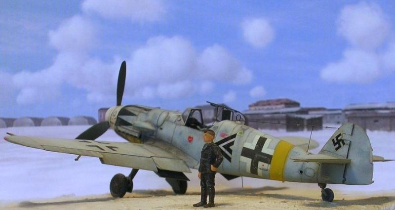 Messerschmitt Bf109G14/U4 ou G6/U4 1/72 Bf109g11
