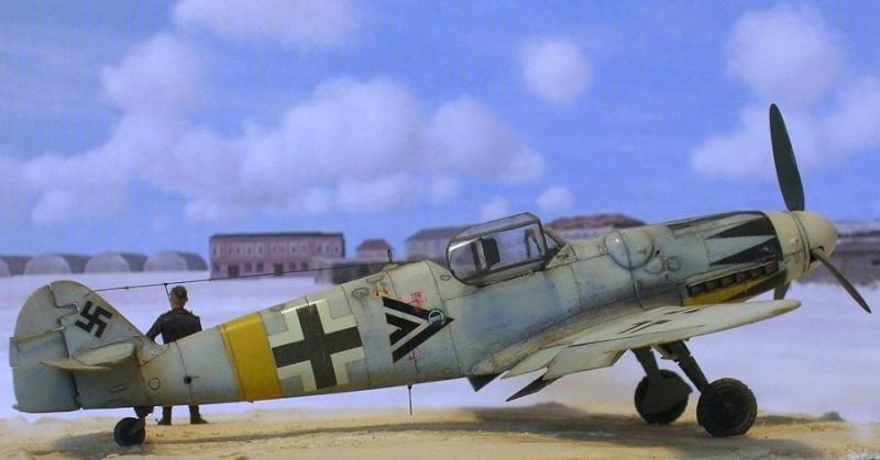 Messerschmitt Bf109G14/U4 ou G6/U4 1/72 Bf109g12