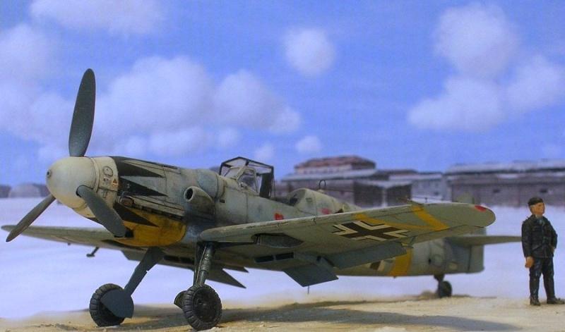 Messerschmitt Bf109G14/U4 ou G6/U4 1/72 Bf109g13