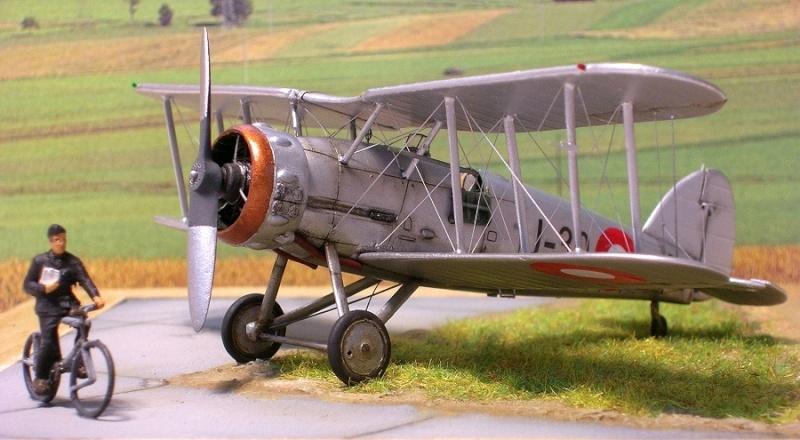 Gloster Gauntlet MkI danois 1/72 Gauntl27