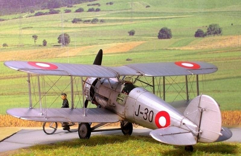 Gloster Gauntlet MkI danois 1/72 Gauntl28