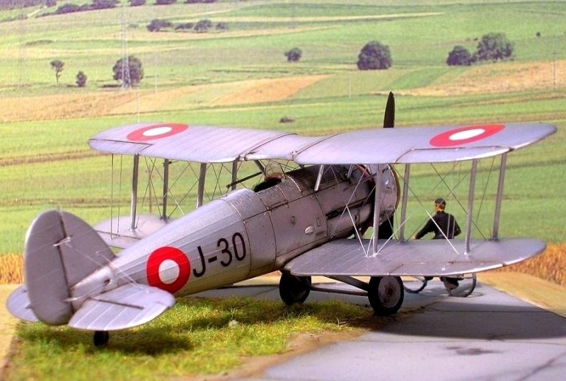Gloster Gauntlet MkI danois 1/72 Gauntl29