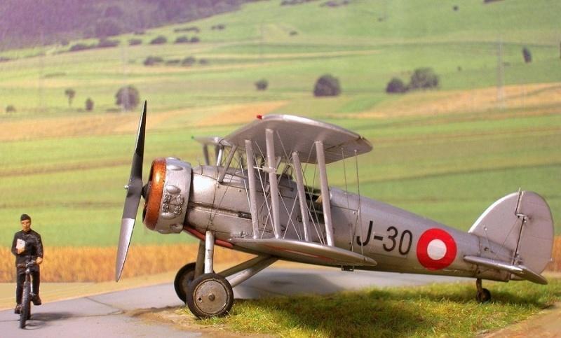 Gloster Gauntlet MkI danois 1/72 Gauntl31