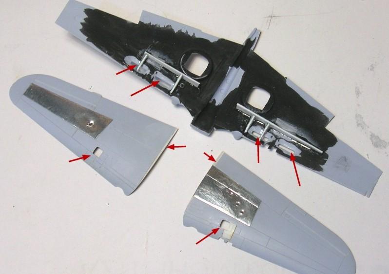 Montage: Curtiss Tomahawk MkIIB 1/72 Monta121