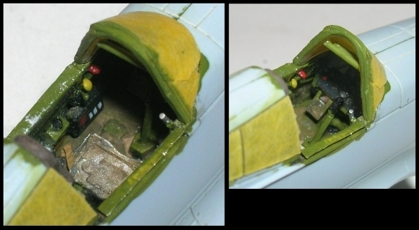 Montage: Curtiss Tomahawk MkIIB 1/72 Monta126