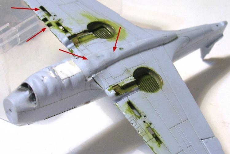 Montage: Curtiss Tomahawk MkIIB 1/72 Monta127