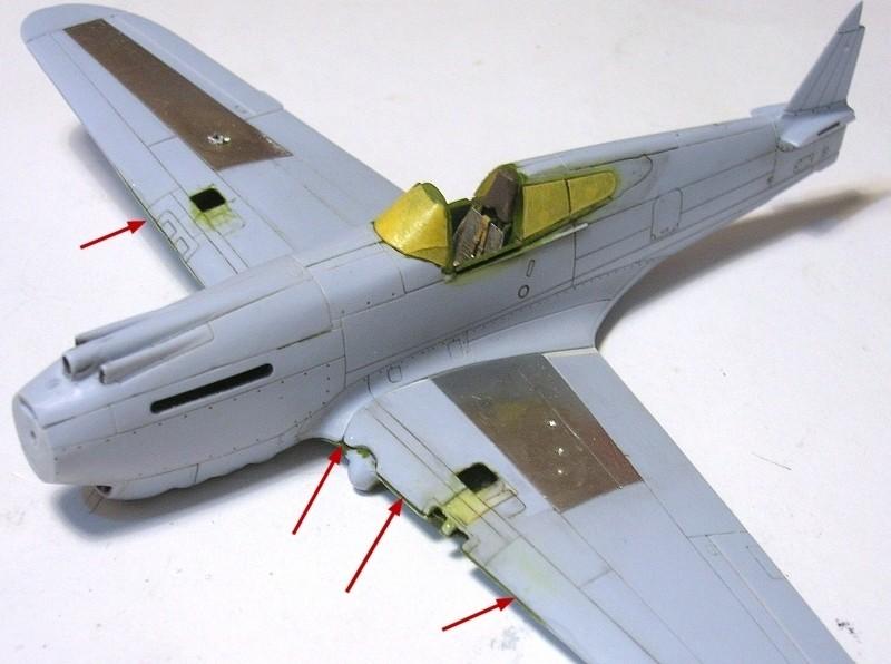 Montage: Curtiss Tomahawk MkIIB 1/72 Monta128