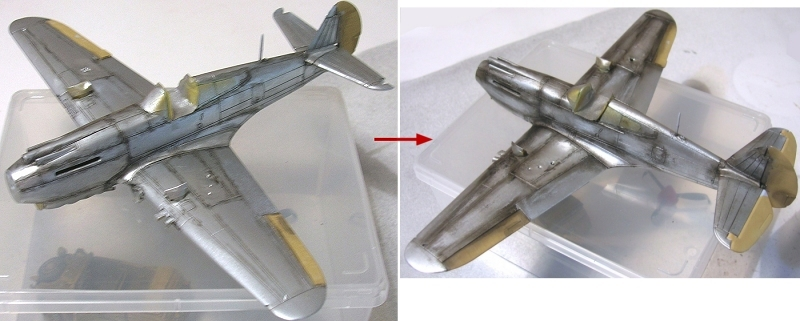 Montage: Curtiss Tomahawk MkIIB 1/72 Monta130