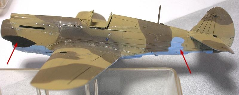 Montage: Curtiss Tomahawk MkIIB 1/72 Monta131