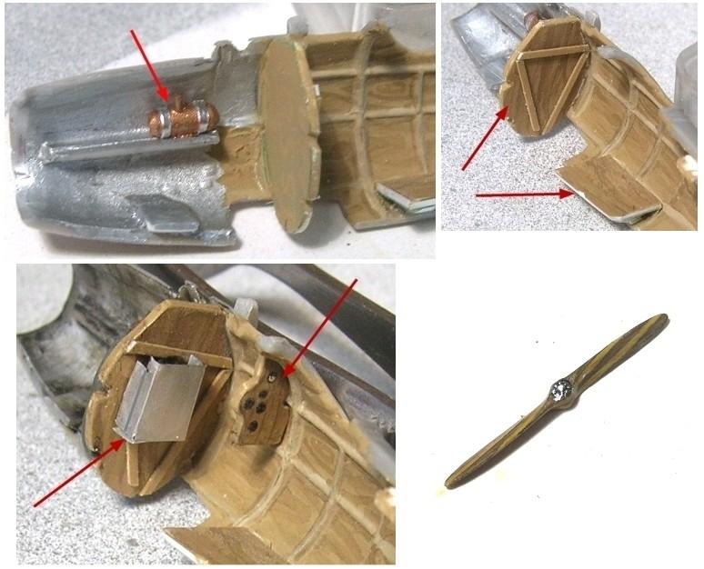 Montage: Albatros D-V 1/72 Monta158