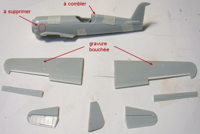 Montage: IAR 80 / A-Model 1/72 Montag16