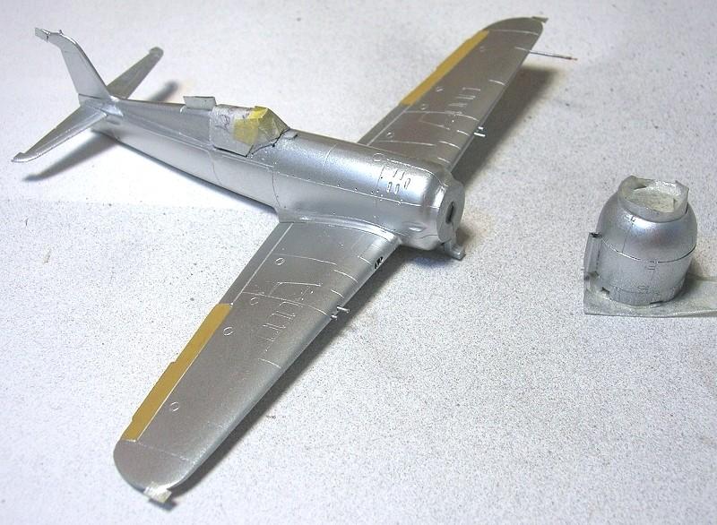 Montage: IAR 80 / A-Model 1/72 Montag39