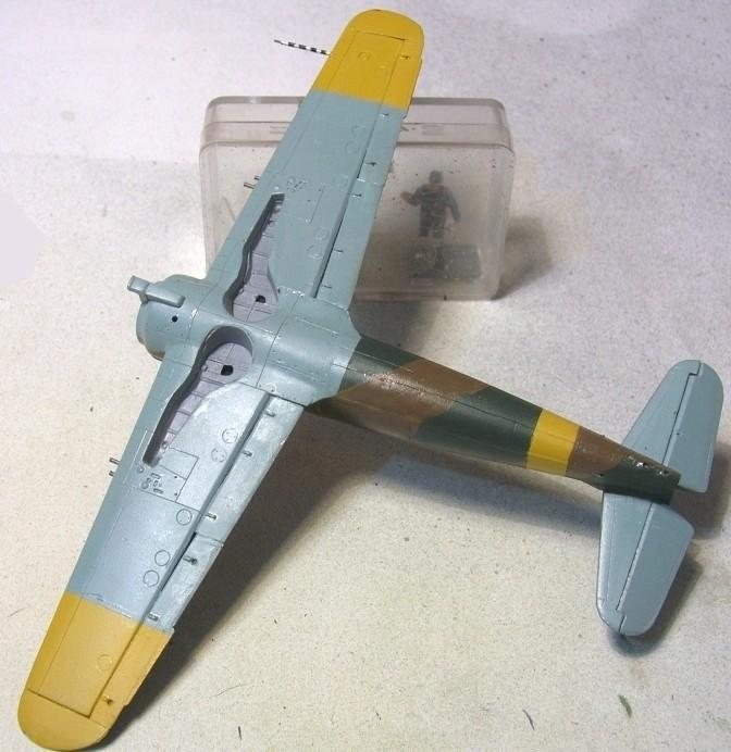 Montage: IAR 80 / A-Model 1/72 Montag46