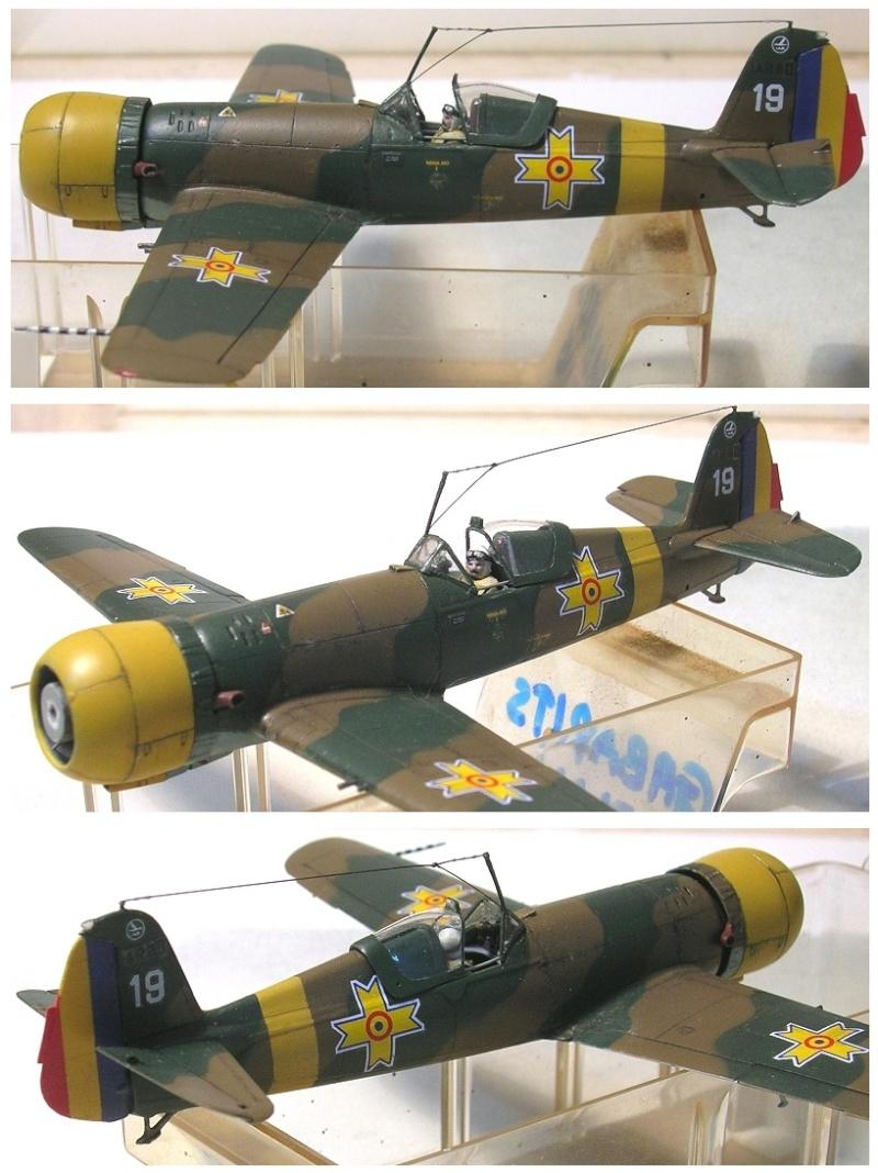 Montage: IAR 80 / A-Model 1/72 Montag59