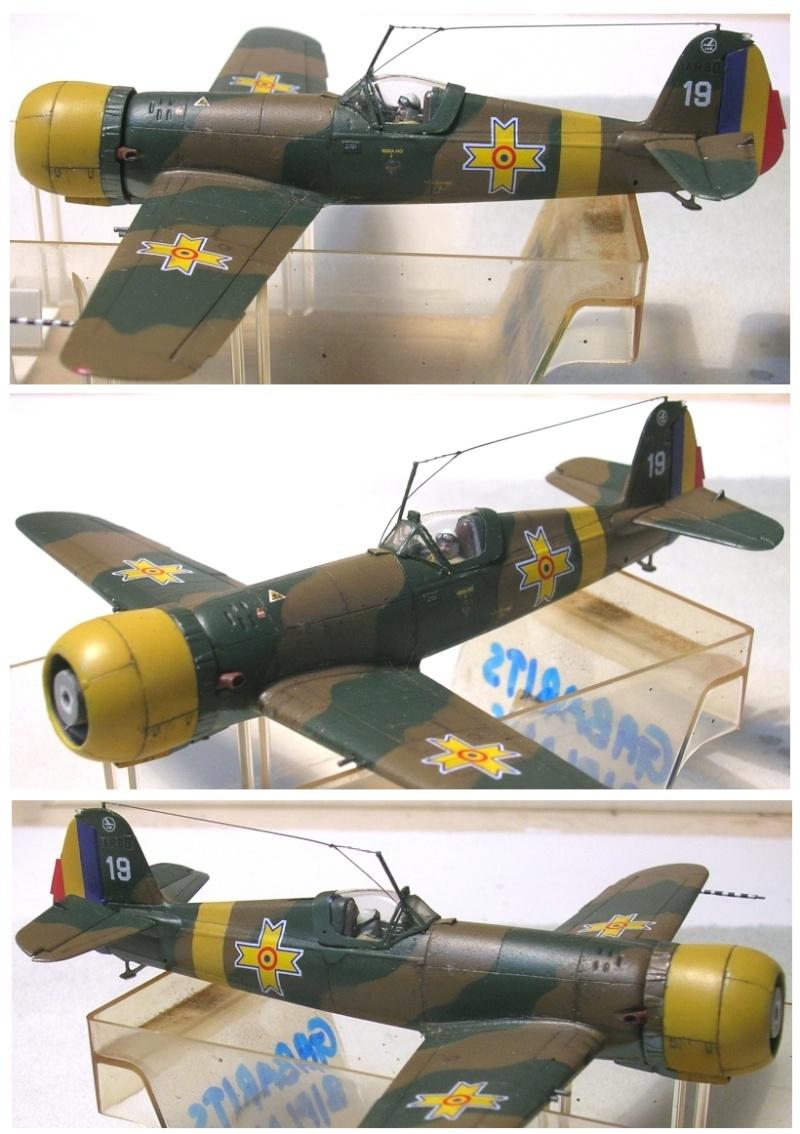 Montage: IAR 80 / A-Model 1/72 Montag60