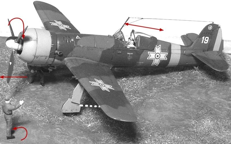 Montage: IAR 80 / A-Model 1/72 Montag61