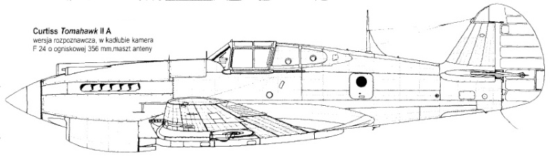 Montage: Curtiss Tomahawk MkIIB 1/72 P40b-t10