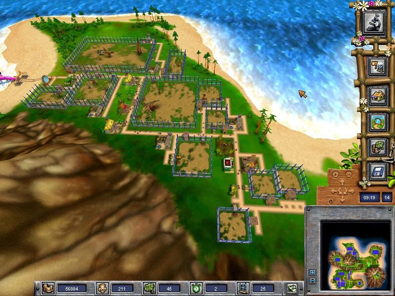 Dino Island : aide pour régler un problème de lancement de jeu Dino_i10