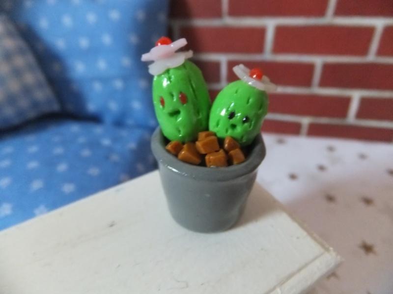 Mon micro monde d'accessoires pour dollhouse Fimo_a16