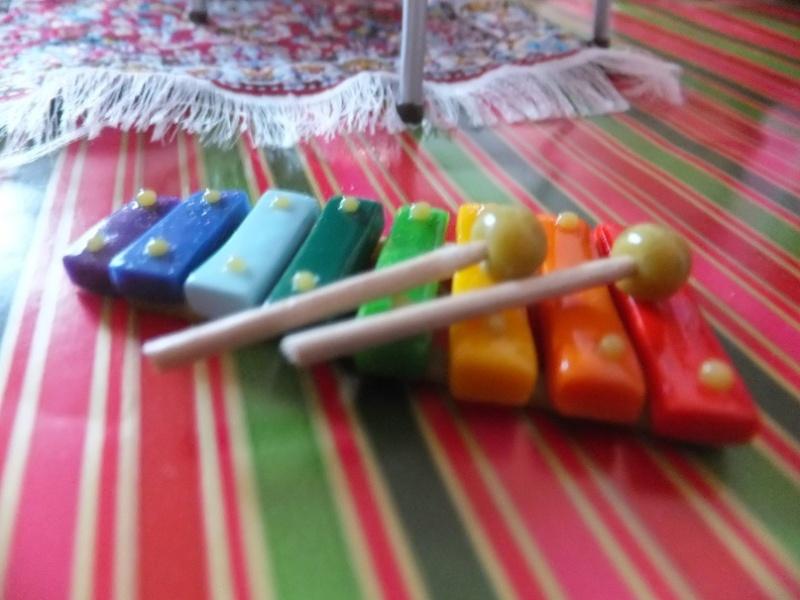 Mon micro monde d'accessoires pour dollhouse Noal_217