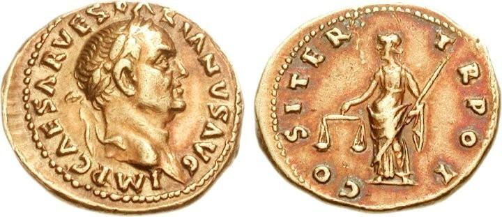 Exceptionnel : vente d'un aureus ... de Pompéi ! Boscor10