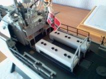 schnellboot S-100.maquette plastique REVELL au 1/72+ equipage. - Page 3 Getatt38