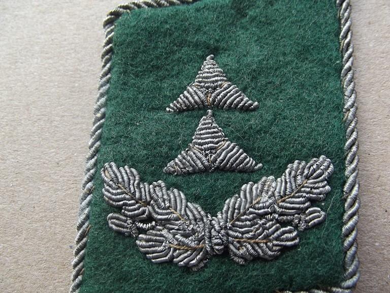 patte de col Oberlieutnant luftwaffe service administratif Dscf9836