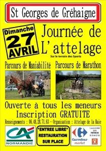 Attelage de la Baie ==> Sud Manche => Mt St Michel 27_avr10
