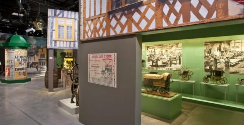 """Exposition """"Fouette cocher"""" Ecomusée de Rennes. Expo_r13"""